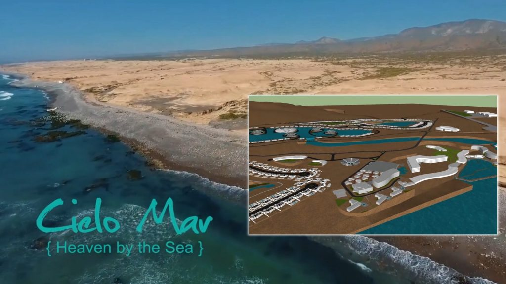 Cielo Mar: The Future of Living - Bay of Rosario, Baja California, Mexico