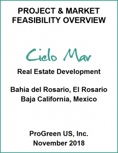 Cielo Mar Project & Market Feasibility Overview document thumbnail image